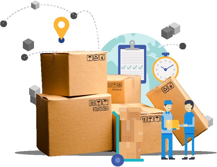 logística y distribución para envio de mercaderíade la empresa logistica EDB